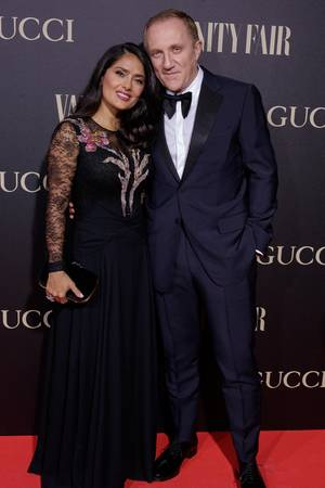 Nach 13 Jahren noch verliebt wie am ersten Tag: Salma Hayek und François-Henri Pinault