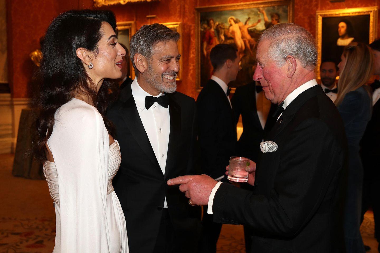Amal Clooney, George Clooney, Prinz Charles