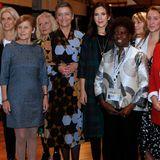 "Im House of Scandinavia nimmt Mary außerdem an der Veranstaltung ""Women in Leadership & How To Inspire the Next Generation of Women Leaders"" teil."
