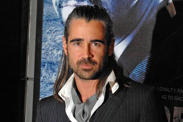 Half Up Half Down: So lässig trägt es Colin Farrell bei der Premiere des Films 'Pride and Glory' 2008 in New York.