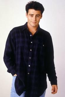 """Es ist tatsächlich Matt LeBlanc, der in der Erfolgsserie """"Friends"""" als Joeyden Frauen vor den TV-Geräten den Kopf verdreht. Dieses Foto zeigt Matt LeBlanc im Jahr 1995 als Frauenschwarm."""