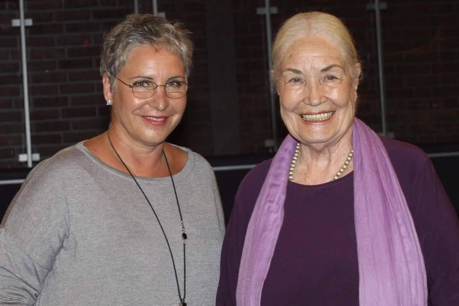 Katerina Jacob und ihre Mutter Ellen Schwiers