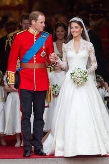 Prinz William und Herzogin Catherine heirateten am 29. April 2011 in der Westminster Abbey.