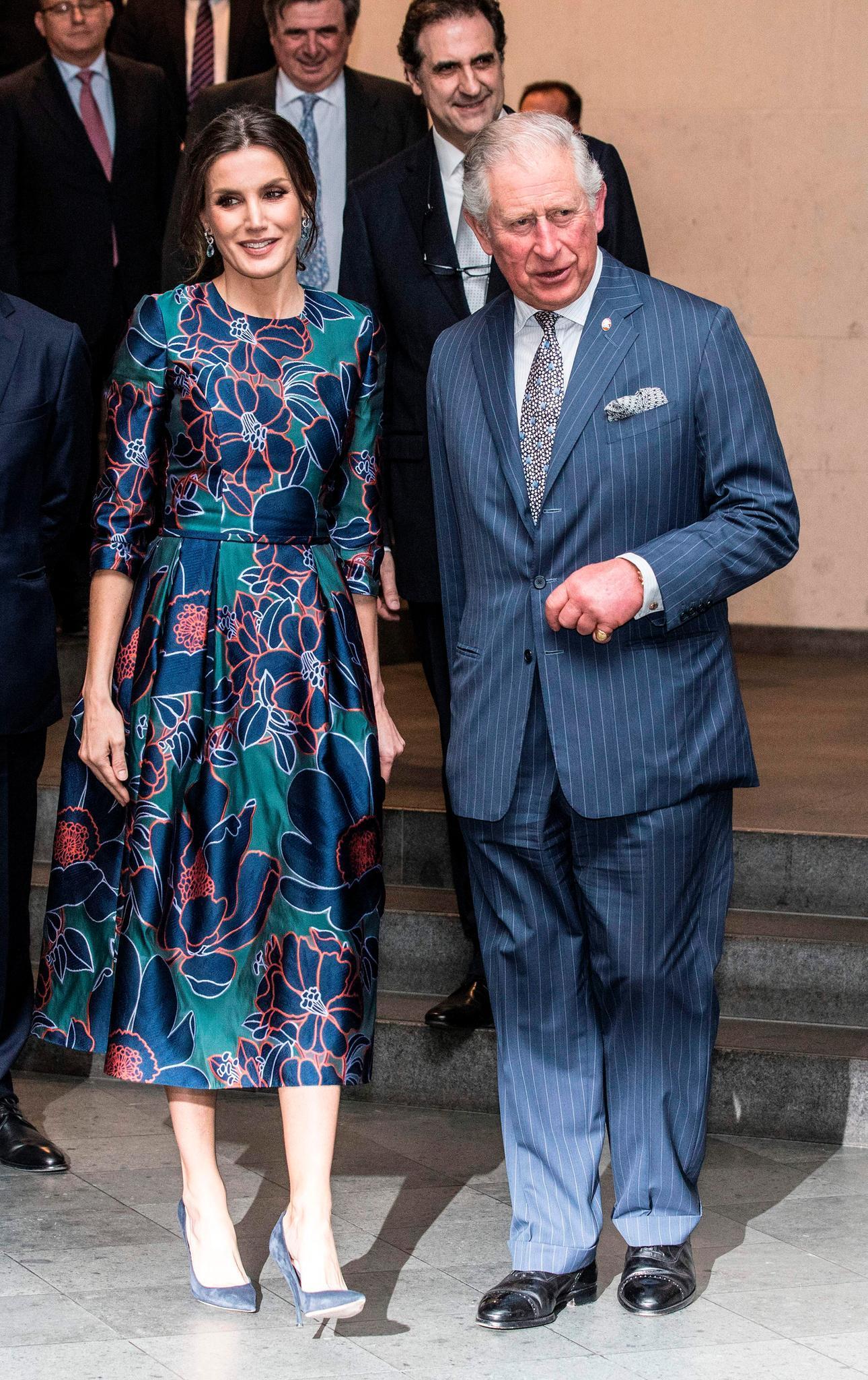 Königin Letizia, Prinz Charles