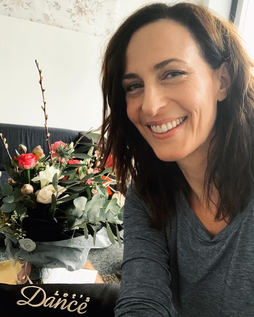 Schauspielerin Ulrike Frank hat sich Tipps von ihrem GZSZ-Kollegen Jörn Schlönvoigt geholt