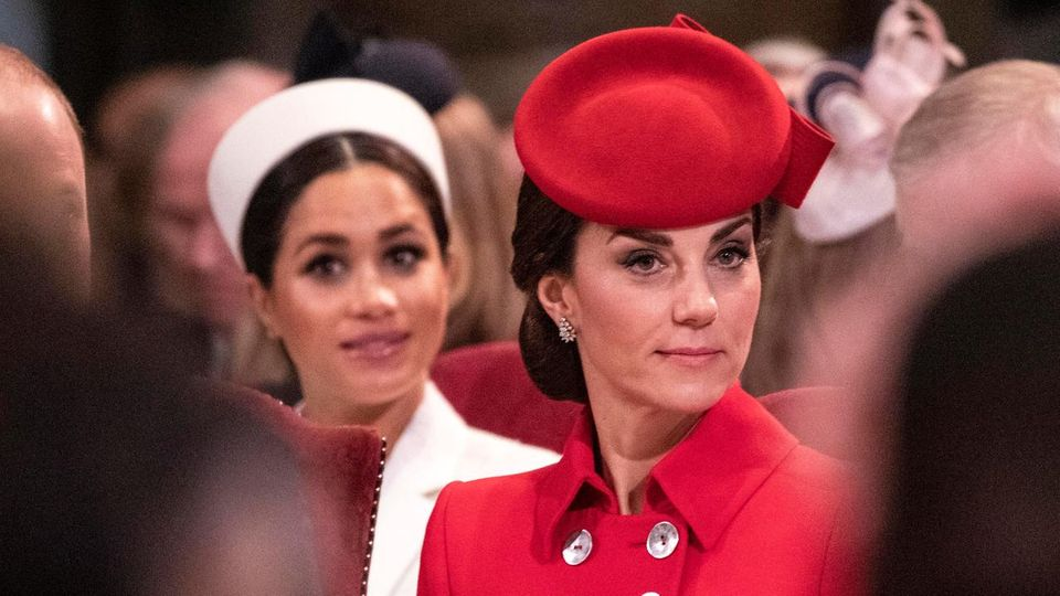 Herzogin Meghan und Herzogin Catherineam Commonwealth Day in der Westminster Abbey