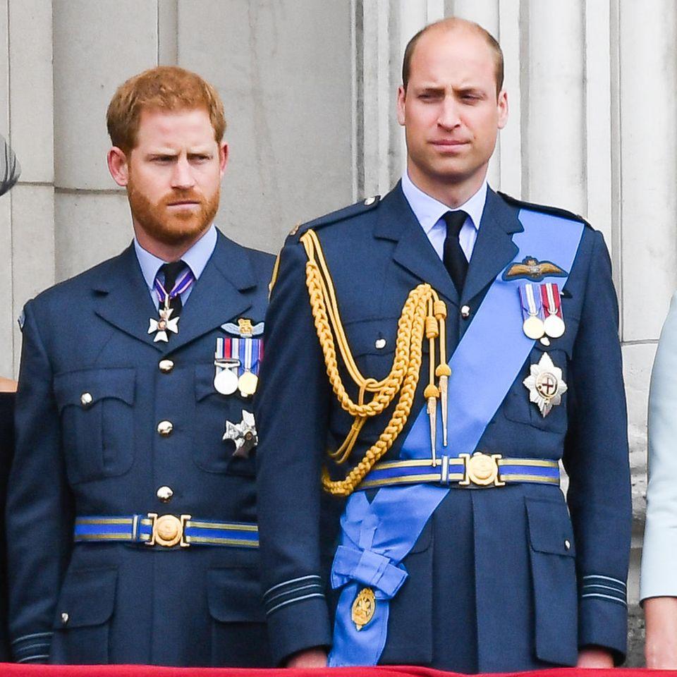 Herzogin Meghan, Prinz Harry, Prinz William und Herzogin Catherine gehen bald getrennte Wege