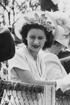 Peter Townsend und Prinzessin Margaretwährend einer Reise der Royals in Südafrika im Jahr 1947