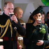 17. März 2019  Was wäre ein St. Patrick's Day ohne Guinness? Auch Prinz William und Herzogin Catherine lassen sich das irische Bier schmecken.