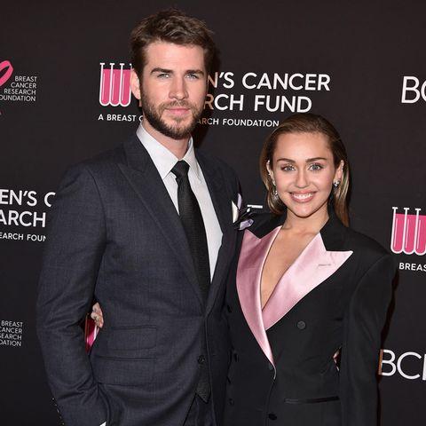 Liam Hemsworth und seine Ehefrau Miley Cyrus.
