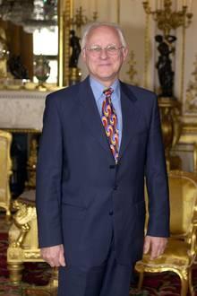 Dickie Arbeiter arbeitetevon 1988 bis 2000 als Sprecher von Queen Elizabeth