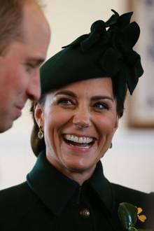 Herzogin Catherine und Prinz William am St. Patricks Day