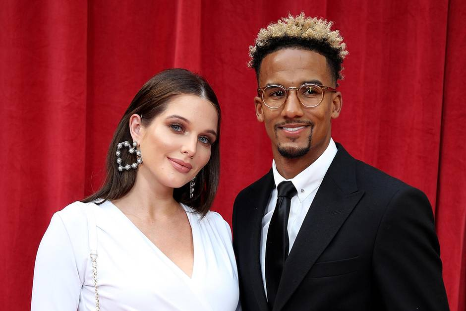 Helen Flanagan + Scott Sinclair