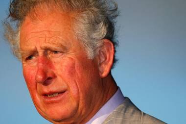 Im Rahmen seiner Karibikreise wird Prinz Charles in Stadion von St. Lucia begrüßt. Dabei wird er Opfer einer Windböe, die für einen kurzen Moment zu dieser lustigen Frisurführt.