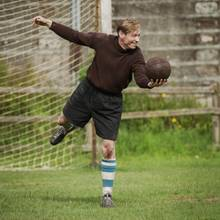 David Kross in der Rolle von Bert Trautmann