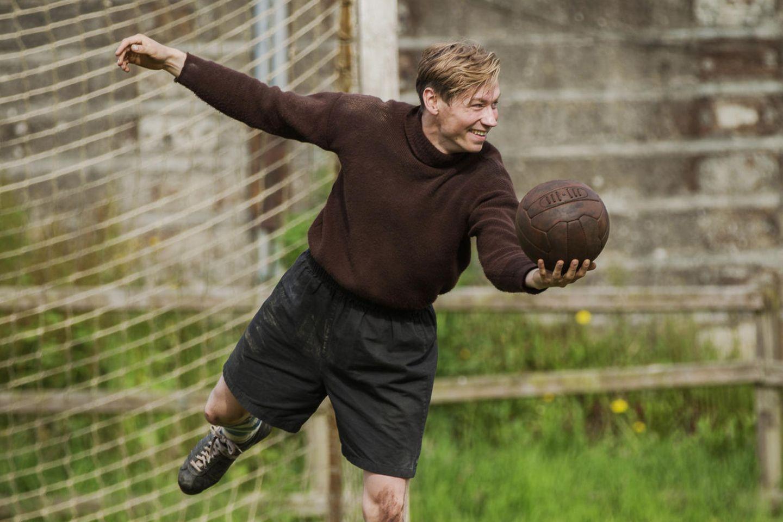 David Kross in der Rolle von Bert Trautmann