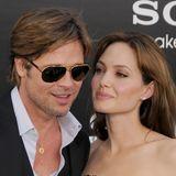 Es ist ein ewiges Hin und Her: Sobald sich Angelina Jolie die Haare wieder aufhellen lässt, macht auch Brad Pitt mit. Beim Schnitt scheint er sich ebenfalls anzupassen. Die vordere Front eher stufig, der Scheitel links und das Haar aus dem Gesicht heraus gestylt - Brangelina zeigt sich mit Partnerfrisur.