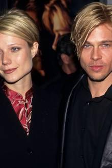 Auch wenn Gwyneth und Brad ihre Brillen einmal nicht tragen, sehen sie sich doch ziemlich ähnlich. Es scheint ganz so, als hätte der Schauspieler seine Frisur an die seiner Verlobten angeglichen.