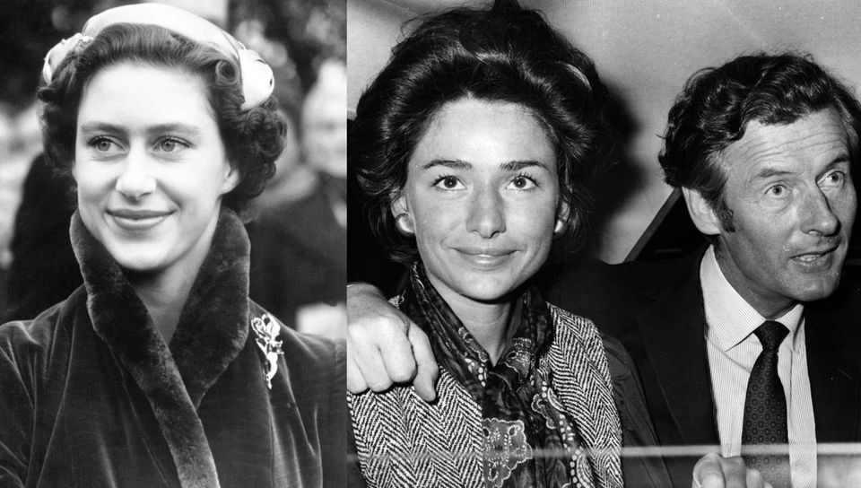 Prinzessin Margaret, Marie-Luce Jamagne, Peter Townsend