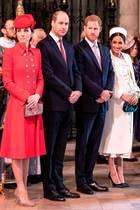 Herzogin Catherine, Prinz William, Prinz Harry, Herzogin Meghan