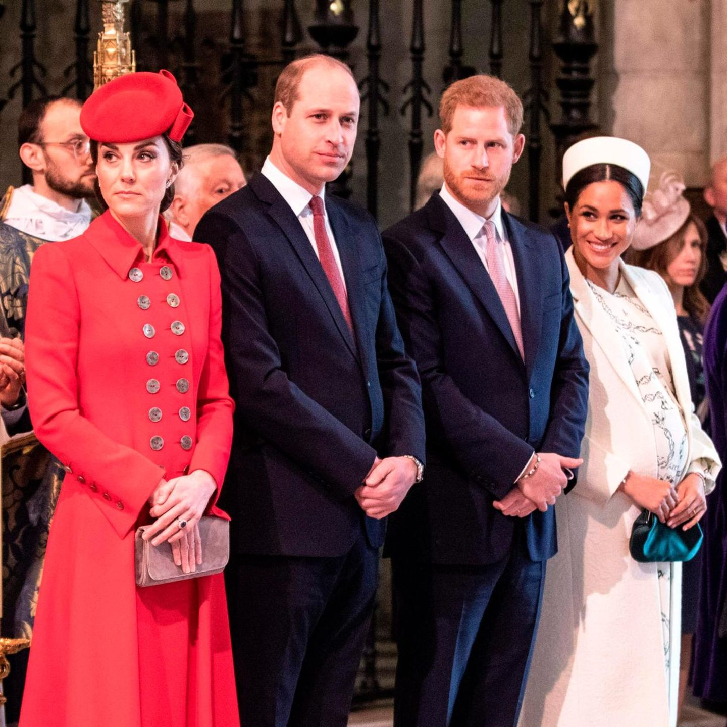 Herzogin Catherine, Prinz William, Prinz Harry, Herzogin Meghan