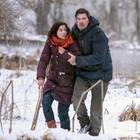 """""""Sturm der Liebe"""":Christoph (Dieter Bach, r.) und Eva (Uta Kargel, l.) kämpfen sich durch die Wildnis (Folge 3137, voraussichtliche Ausstrahlung am 2. Mai 2019)."""