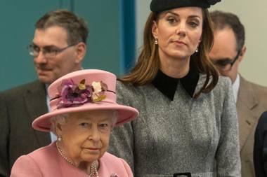 Queen Elizabeth, Herzogin Catherine