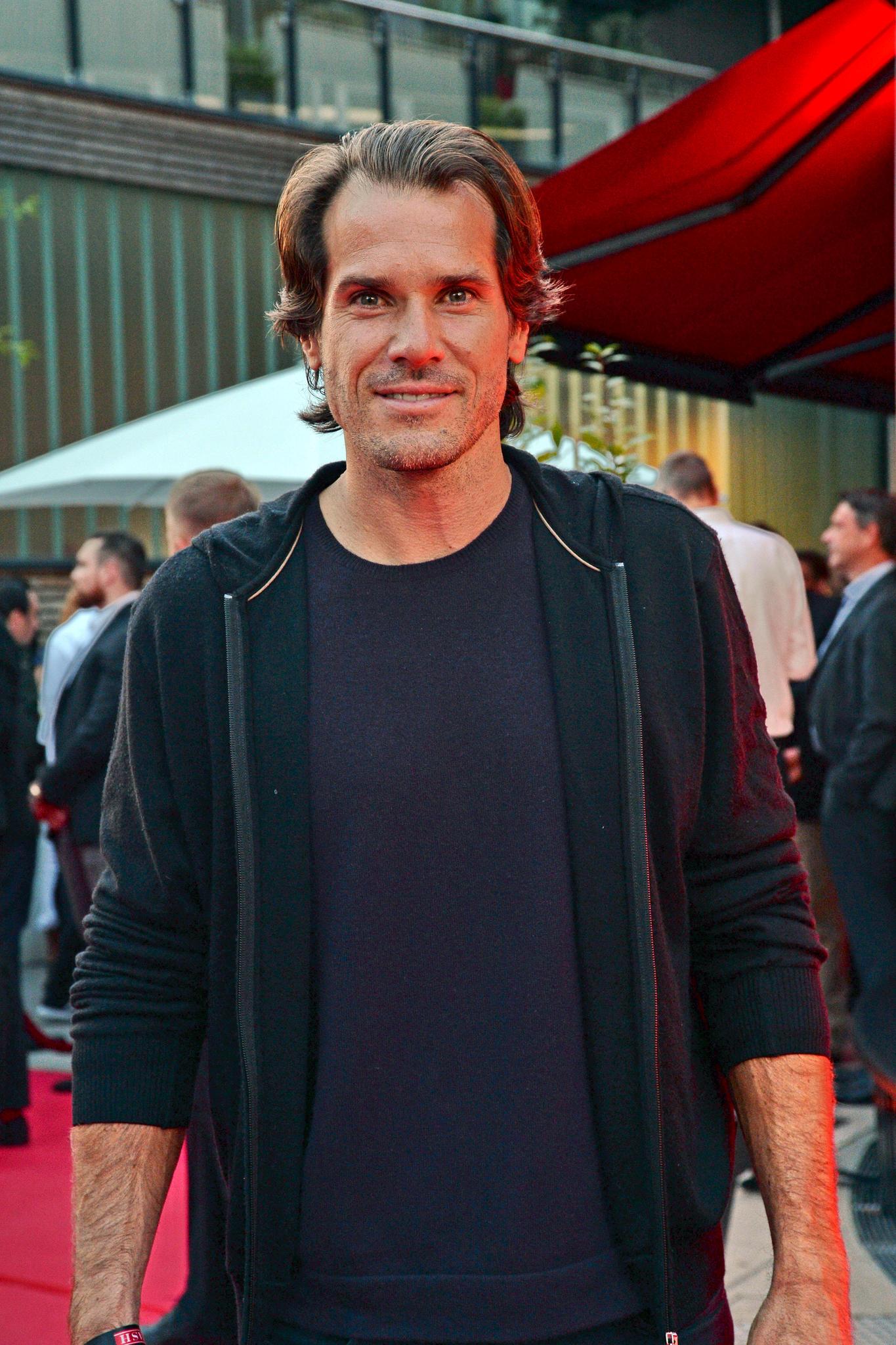 Der Ex-Tennis-Profi ist mit Hollywoods Megastars befreundet