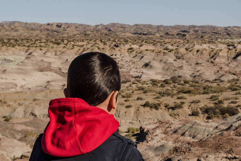 In Argentinien ging in ein Fünfjähriger in der Wüste verloren