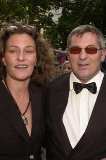 Heinz Hoenig und seine Frau Simone im Jahr 2001