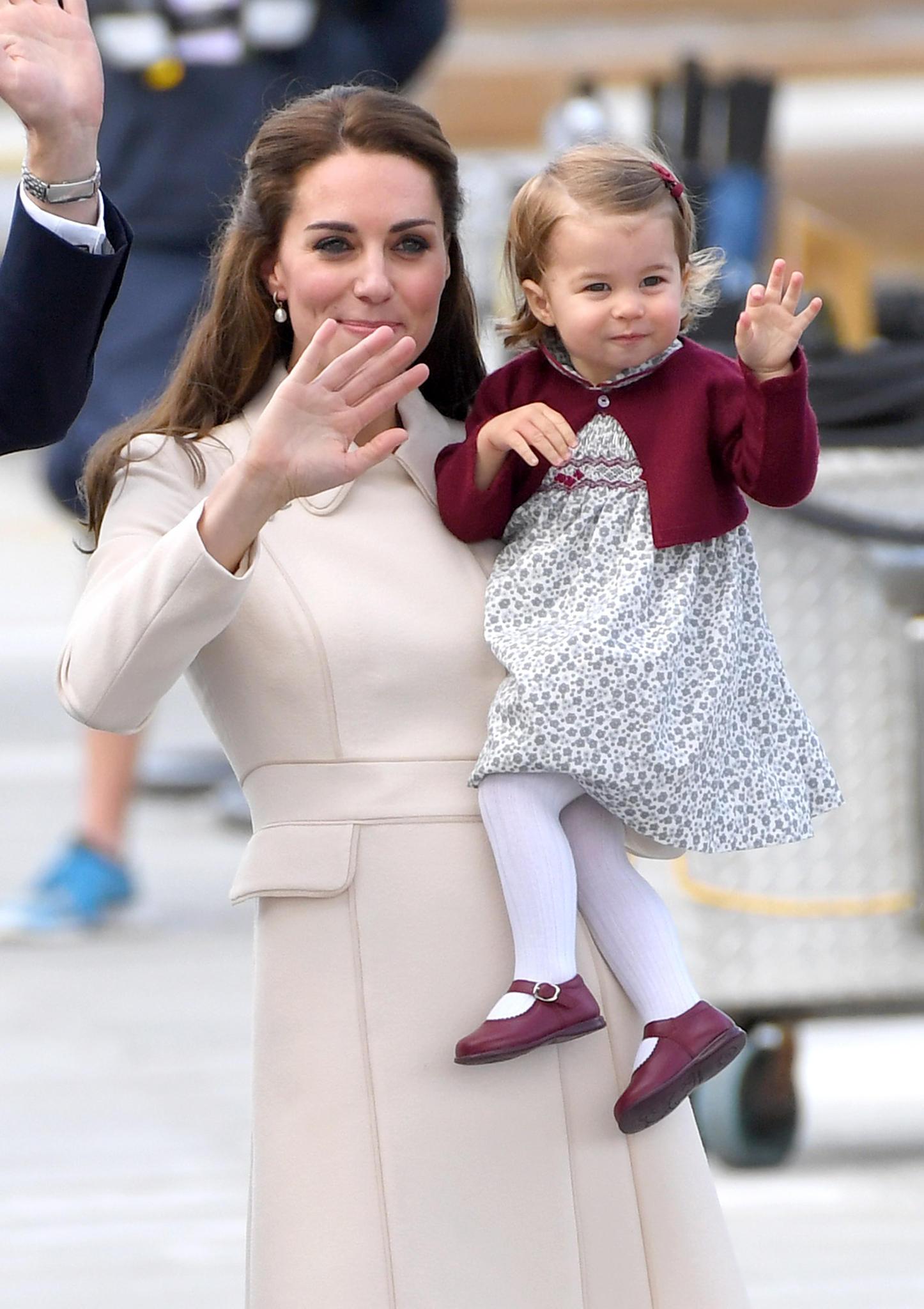 Herzogin Kate, Prinzessin Charlotte