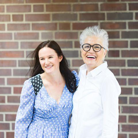 Doris Brückner und Greta Silver.