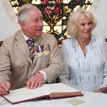 Prinz Charles und Herzogin Camilla.