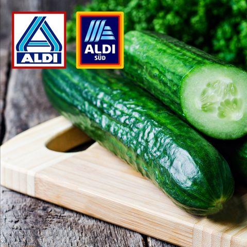 Aldi verkauft seine Salatgurken zukünftig nur noch ohne Verpackung
