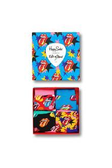 Diese Socken rocken: Die Rolling Stones Sock Box ist das perfekte Geschenk für wahre Rolling Stones Fans und bietet gleich drei Varianten des legendären Logos. Von Happy Socks, ca. 40 Euro.