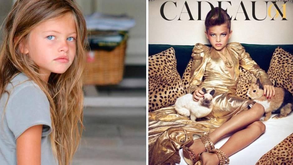 Mit 11 Jahren ausgezeichnet: Schönstes Mädchen der Welt: So sieht Thylane Blondeau heute aus