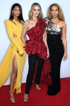Chanel Iman, Rosie Huntington-Whiteley, Leona Lewis