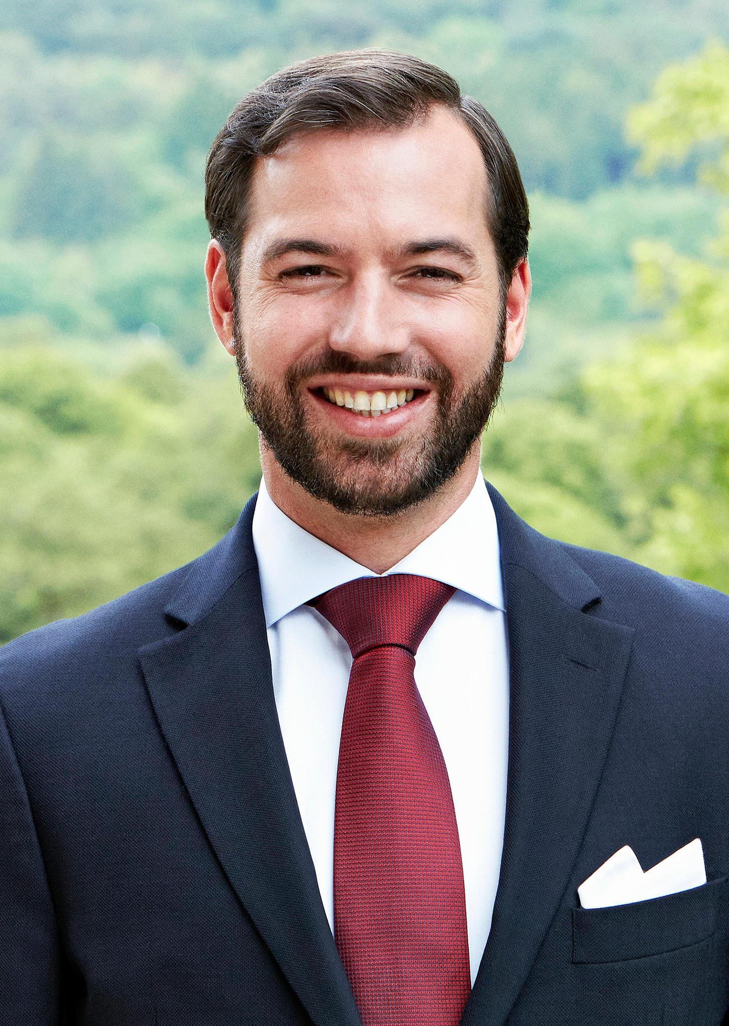 Erbgrossherzog Guillaume von Luxemburg