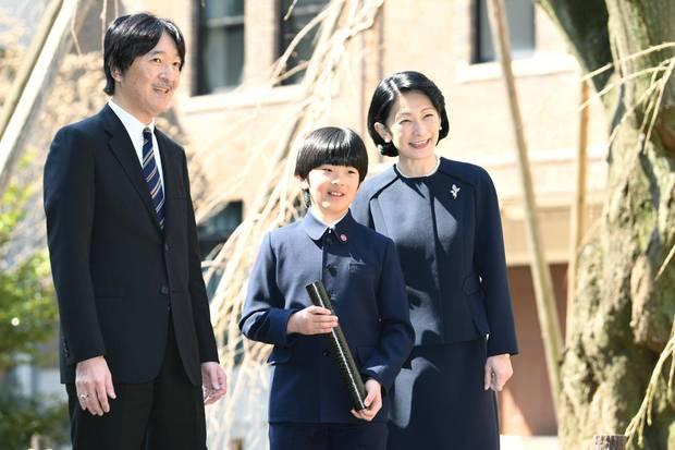 Prinz Akishino, Prinz Hisahito, Prinzessin Kiko