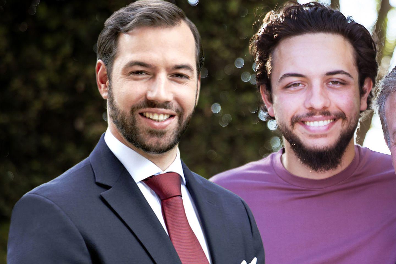 Erbgroßherzog Guillaume, KronprinzHussein bin Abdullah