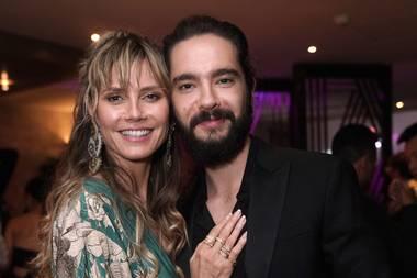 An der Seite von Tom Kaulitz scheint Heidi einfach keinen aufregenden Glamour-Look zu brauchen, denn ihr Lächeln überstrahlt eh alles.