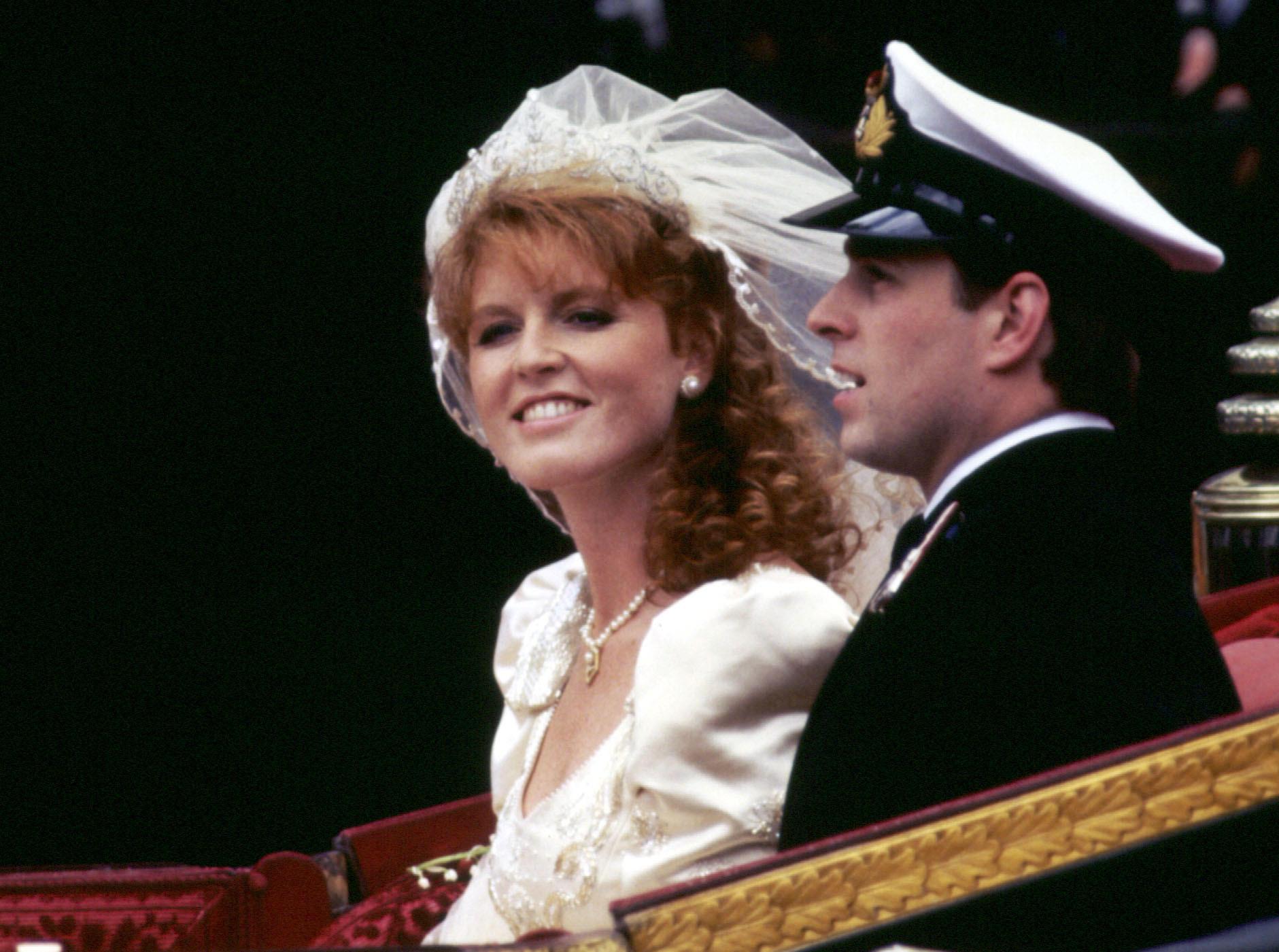 Sarah Ferguson, Prinz Andrew, Hochzeit