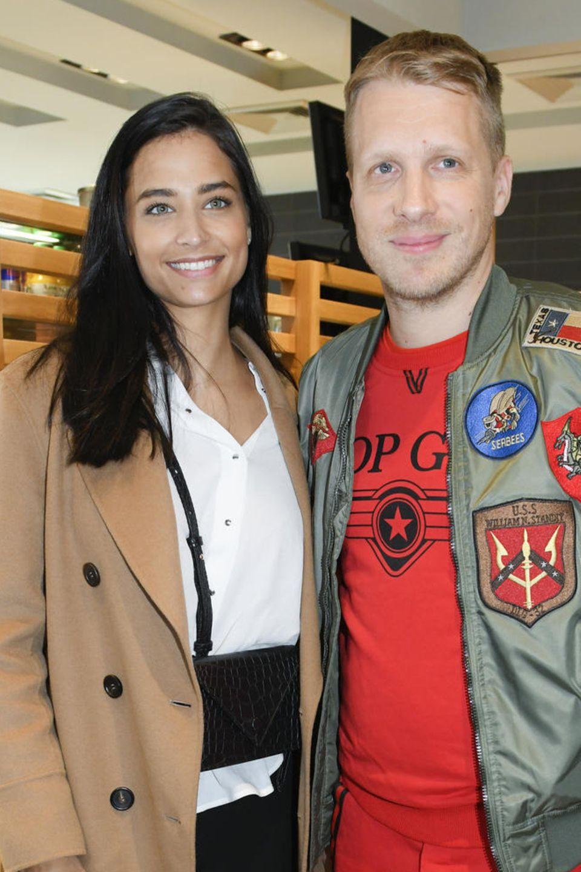 Almira Aly und Oliver Pocher