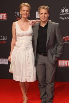 Oliver Pocher und Monica Ivancan im Jahr 2008
