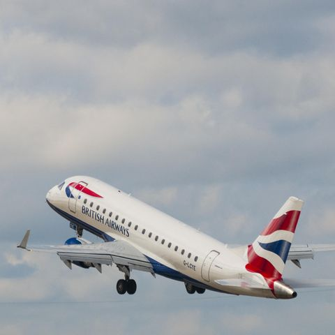 BA3271 flog nach Edinburgh statt Düsseldorf