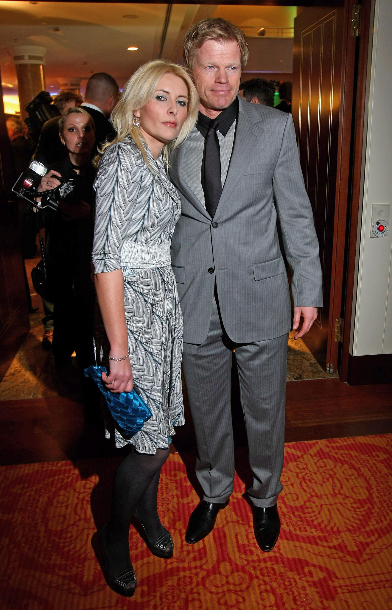 Oliver Kahn und seine Ex-Frau Simone. Ihr Liebescomeback kam 2009 für alle unerwartet.