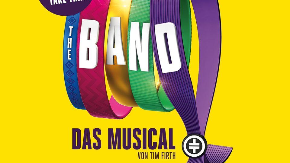 """Mit diesem Plakat will """"The Band - das Musical"""" Besucher anlocken"""