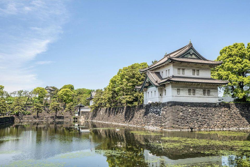 Der Kaiserpalast in Tokio