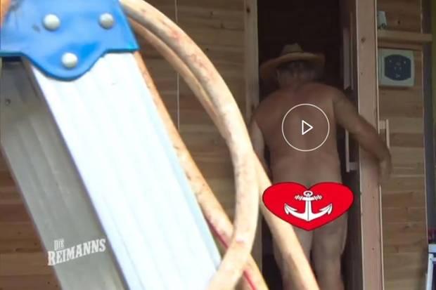 Konnys nackte Kehrseite war im TV zu sehen
