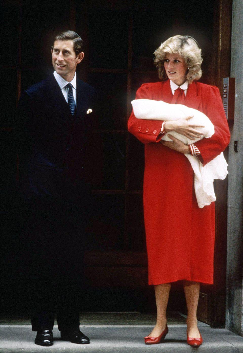 Prinz Charles, Prinz Harry, Prinzessin Diana